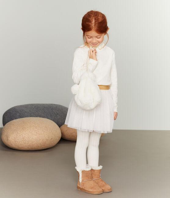 Borsa bambina bianco Marshmallow