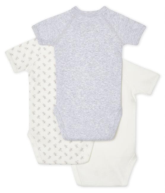 Lotto di 3 body nascita manica corta bebè lotto .