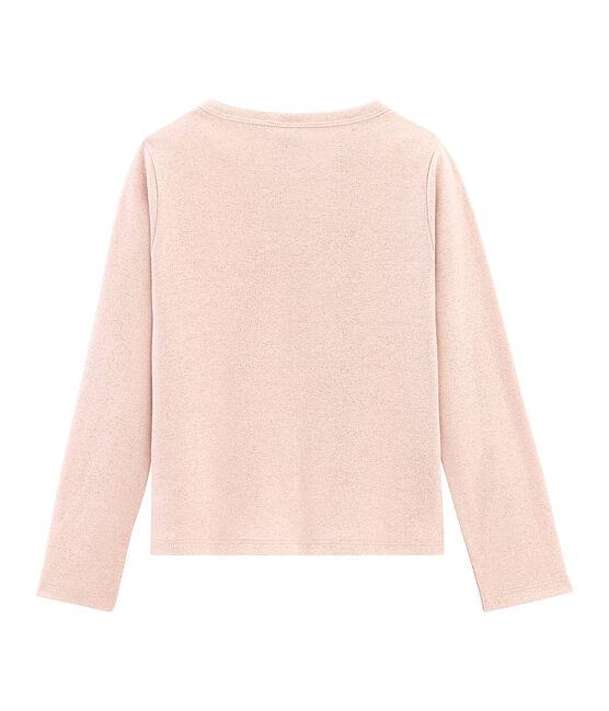 Cardigan bambina rosa Pearl / rosa Copper