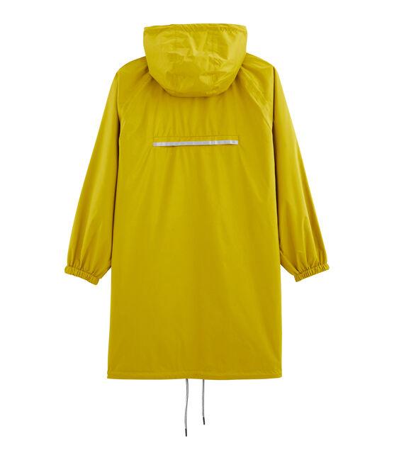Giacchetta lungo reversibile donna giallo Bamboo / verde Pinede