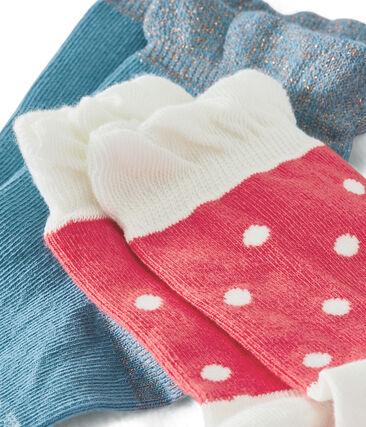 Confezione da 2 paia di calzini bambina