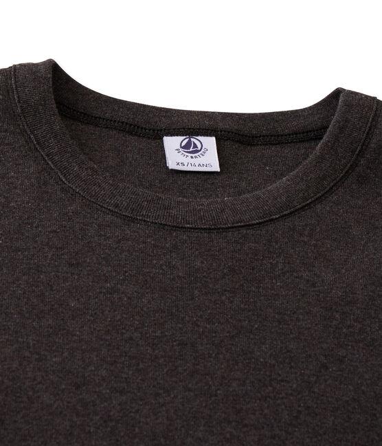 T-shirt manica lunga iconica donna grigio City Chine