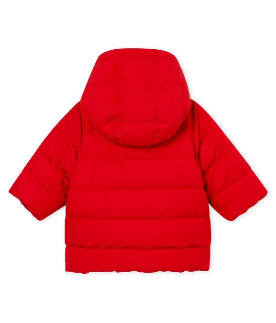 Piumino in microfibra per bebé maschio rosso Terkuit