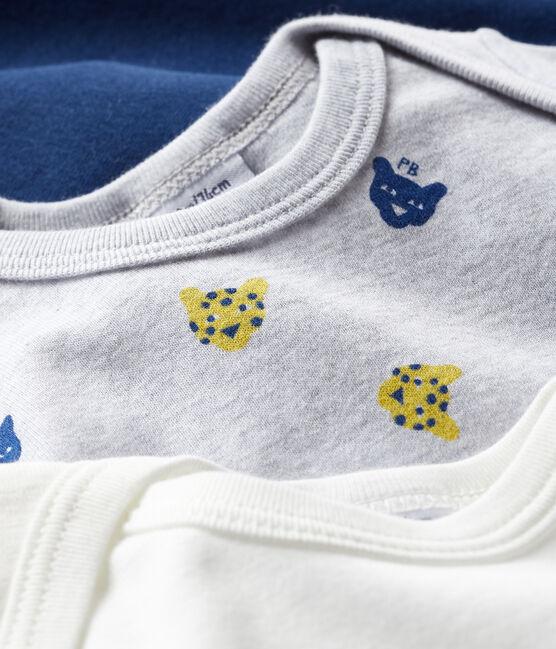 Trio body manica corta bebè maschio lotto .