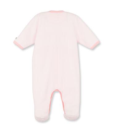 Tutina in pile bebé femmina rosa Vienne