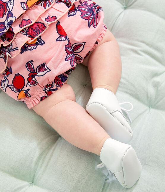 Culotte bloomer bebè femmina fantasia rosa Merveille / bianco Multico