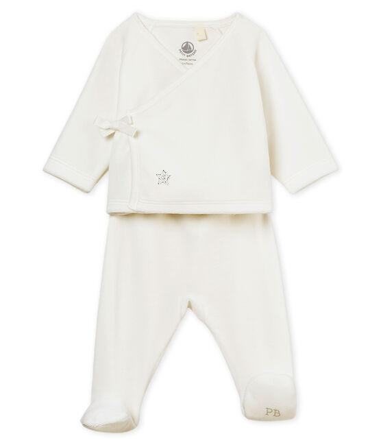 Completo nascita bebè unisex bianco Marshmallow
