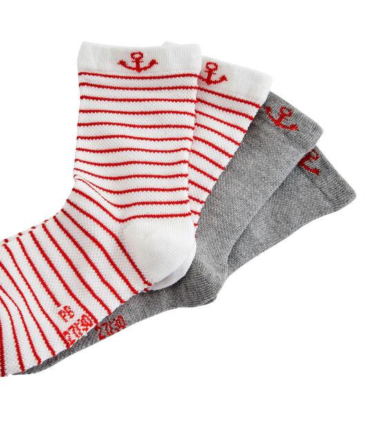 Set di 2 paia di calzini bambino lotto .