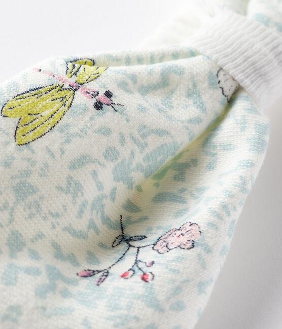 Fascia per capelli bebè bambina bianco Marshmallow / bianco Multico