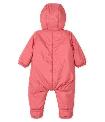 Tutina da pilota bebè unisex rosa Cheek