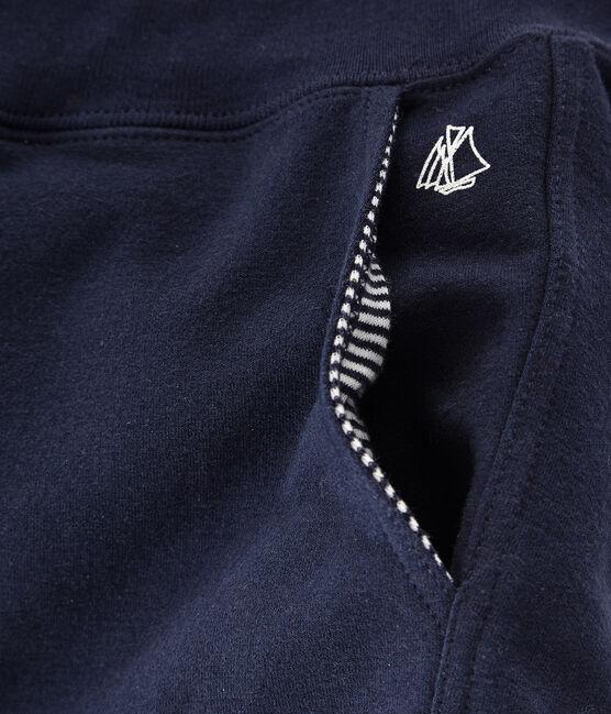 Pantalone bambino blu Smoking