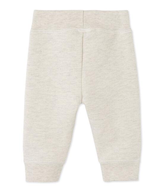Pantaloni da jogging per bebé maschio in molleton grigio Montelimar Chine