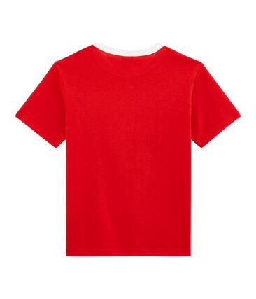 T-shirt bambino rosso Terkuit