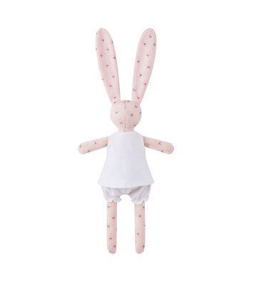 Doudou coniglietto stampato