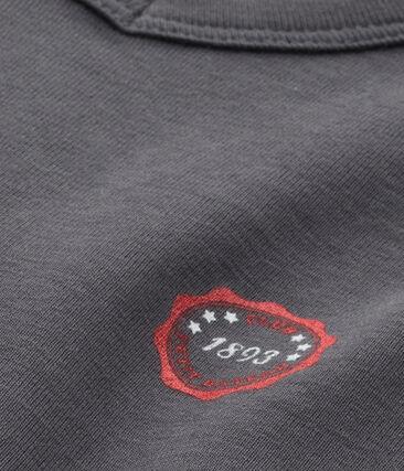 T-shirt bambino scollo a V con motivo
