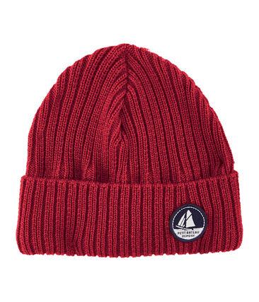 Cappellino bambino unisex rosso Terkuit