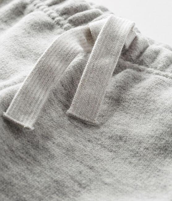 Pantalone in molleton per bebé maschio grigio Gris