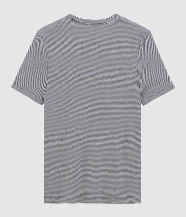 T-shirt uomo blu Smoking / bianco Marshmallow