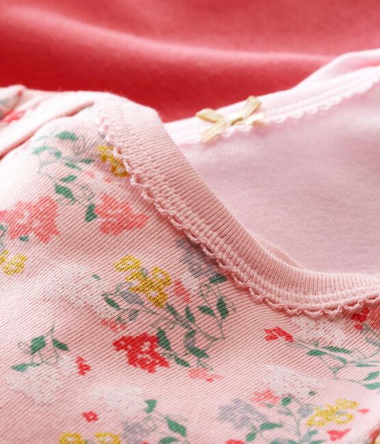 Lotto di 3 bodies a maniche lunghe per bebé femmina lotto .
