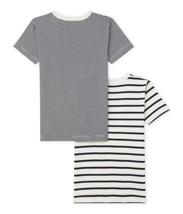 Duo t-shirt ragazzo maniche corte