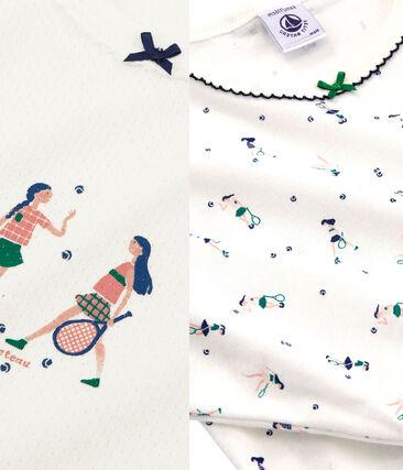 Lotto da 2 pigiami bimba