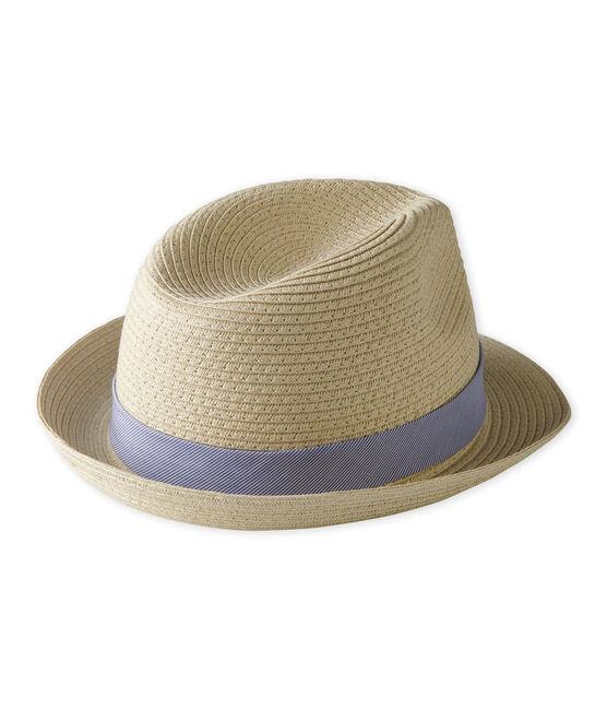 Cappello di paglia bambino unisex rosa Naturel