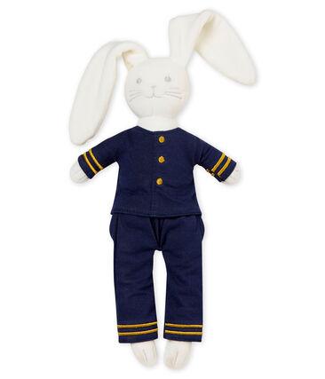 Doudou coniglietto stile marinaro