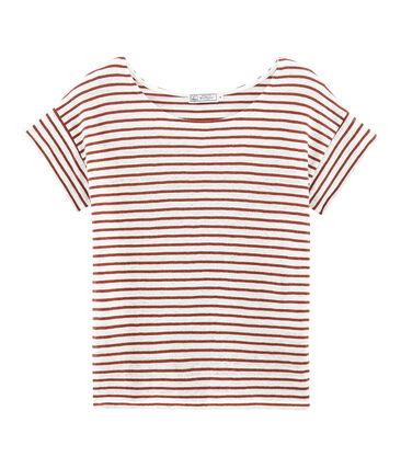 T-shirt maniche corte donna in lino
