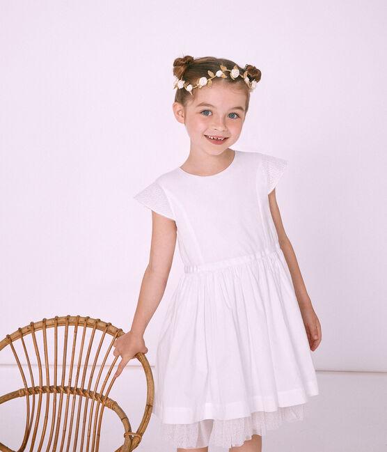 Coroncina di fiori bambina marrone Dore Brillant