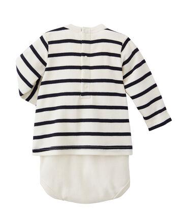 Body t-shirt bebé a righe