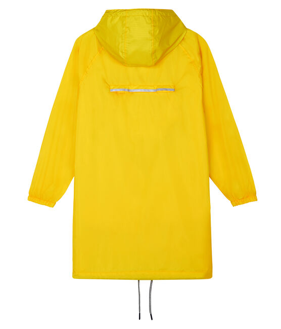 Giacca a vento lunga donna giallo Shine