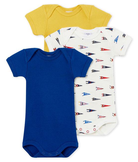 Lotto di 3 bodies a maniche corte bebé maschio lotto .