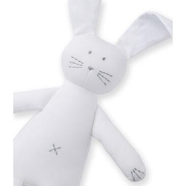 Doudou coniglietto bianco Ecume