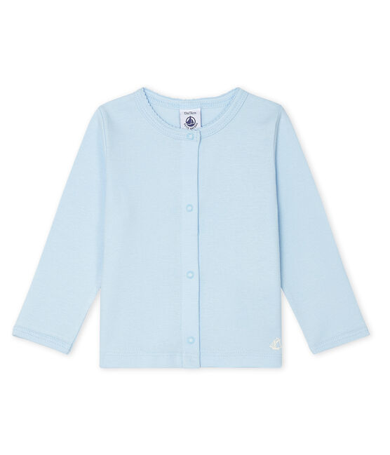 Cardigan leggero bebè femmina blu Fraicheur
