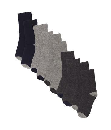 Confezione da 5 paia di calzini bambino lotto .
