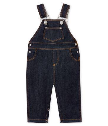 Salopette lunga bebè unisex in jeans