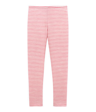 Leggings per bambina in lana e cotone