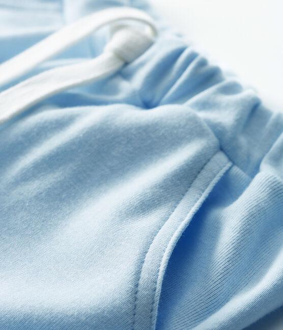 Short bebè femmina - maschio in maglia blu Fraicheur