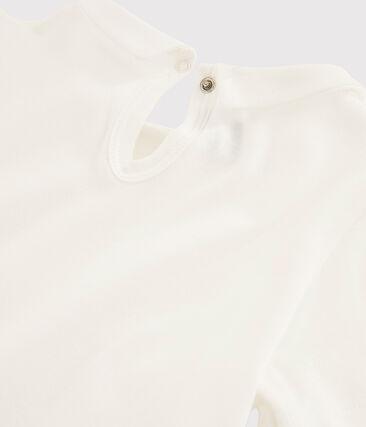 T-shirt bambina bianco Marshmallow