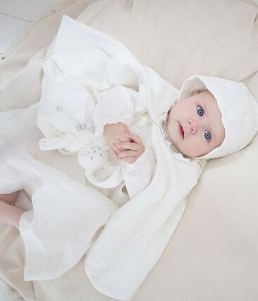 Doudou coniglietto raffinato bianco Marshmallow