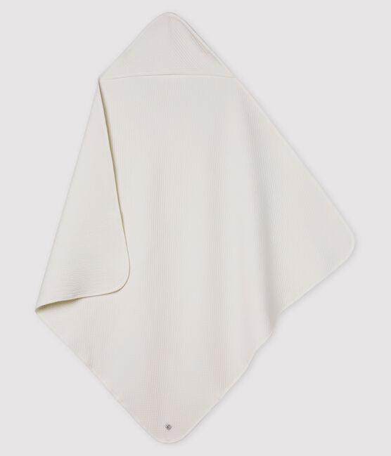 Coperta bebè in tubique bianco Marshmallow