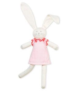 Doudou coniglio vestito