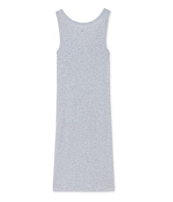 Camicia da notte in cotone ultra light grigio Fumee Chine