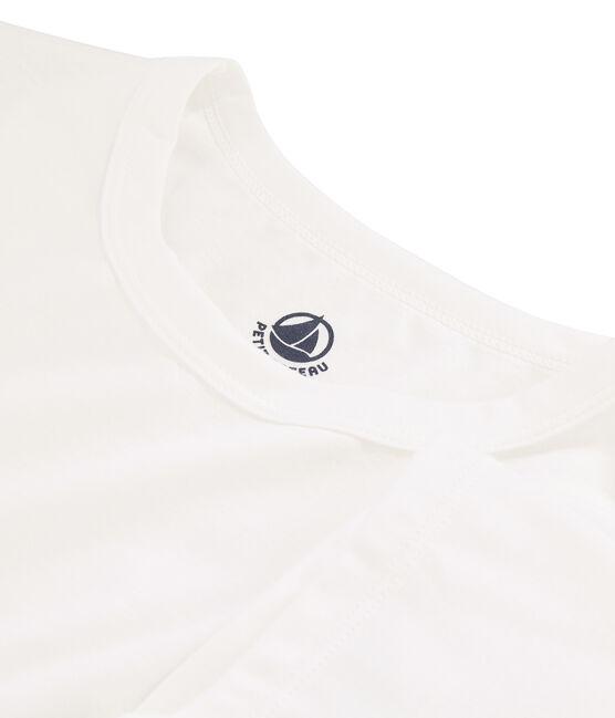 T-shirt in cotone Sea Island donna bianco Marshmallow