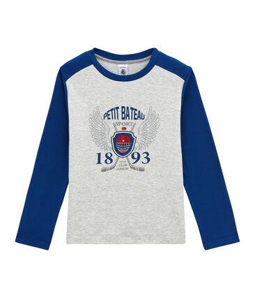 tee-shirtmaniche lunghe per bambino