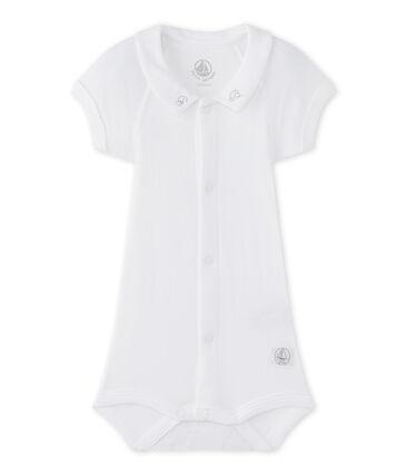 Body per bebé maschio con colletto bianco Ecume