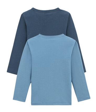 Lotto di 2 t-shirts a maniche lunghe bambino