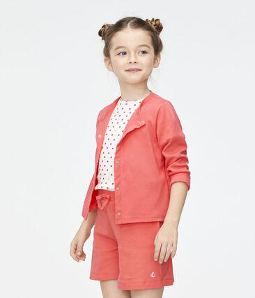 Cardigan bambina rosa Groseiller