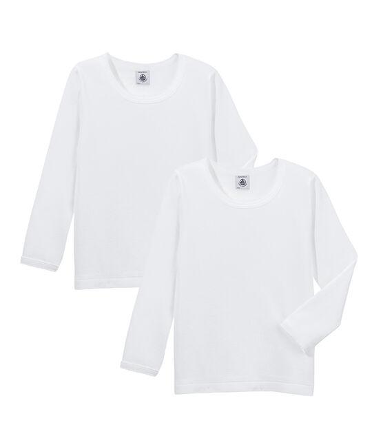 Duo t-shirt maniche lunghe ragazza lotto .