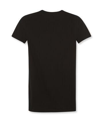 T-shirt manica corta iconica donna nero Noir